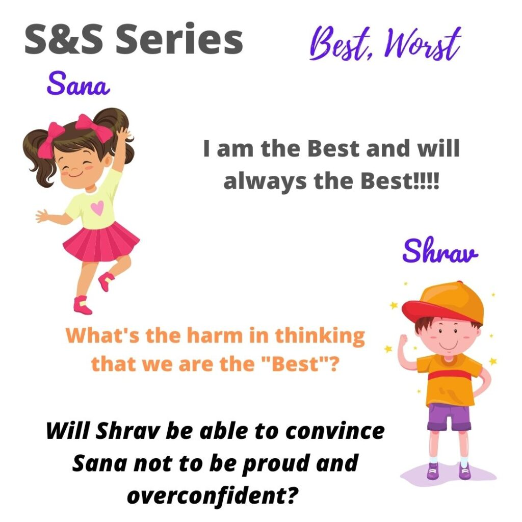 #SSSeries - Better and Worst story from Shrav and Sana in Shravmusings. Who among Shrav and Sana are the Best or Worst?
